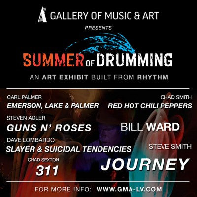 THE ART EVENT OF THE SUMMER COMES TO LAS VEGAS